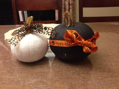 Feelin' Festive. Painted Pumpkins! Painted Pumpkins, Festive, Homemade, Painting, Home Decor, Painted Gourds, Painting Art, Home Made, Diy Crafts