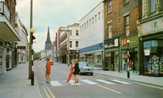 Preston Past: years of change (Part Woolworth Building, Preston Lancashire, Zebra Crossing, Boots Store, Digital Archives, Make Way