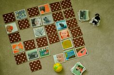 Make your own memory game. Katy at no big dill takes you through step-by-step.