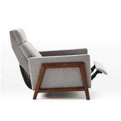 stylish recliner best modern recliner chairs ideas on leather recliner modern recliner and stylish recliners australia Stylish Recliners, Contemporary Recliners, Modern Recliner Chairs, Modern Chairs, Scandinavian Recliner Chairs, Modern Lounge, Inspiration Design, Living Room Inspiration, West Elm