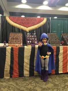 Mini Raven cosplay from Teen Titans