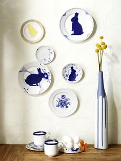 Bastelideen zu Ostern: Es wird bunt mit Gelb und Blau