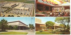 Santa Ana Fashion Square with Bullock's & I Magnin - 60s