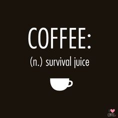 My survival juice! http://en.ilovecoffee.jp