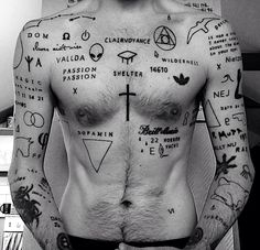your body is a canvas