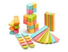 Tegu Magnetic Blocks - Now wooden blocks are even better because they don't fall down.