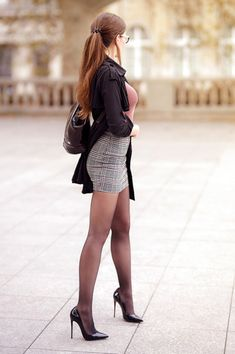 Mode Outfits, Sexy Outfits, Sexy Dresses, Sexy Legs And Heels, Sexy High Heels, Fashion Models, Girl Fashion, Womens Fashion, Fashion Tips