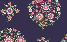 Westminster Fabrics Amy Butler Love Memento Midnight