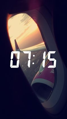 #sky #sunrise #airplane #flying
