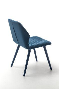 Fabric restaurant chair AVA 1690 Ava Collection by Bross Italia design Michael…