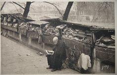 Old bookman / Vieux bouquiniste