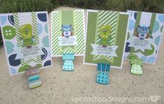 Use your stash challenge: Mixing and Matching graphic patterns on cards | spotofteadesigns.com