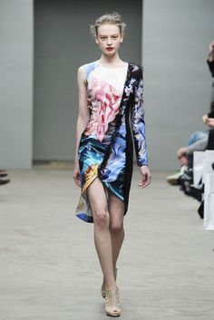 Mary Katrantzou Fall 2010 Ready-to-Wear Collection Slideshow on Style.com