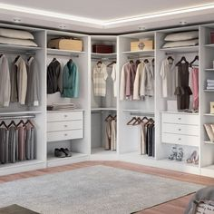When you are thinking about redoing your home, one aspect that you should carefully consider redoing is the closet. The problem is you may not know the benefits of using the dream closets designs to Walk In Closet Design, Bedroom Closet Design, Master Bedroom Closet, Wardrobe Design, Closet Designs, Diy Bedroom, Master Suite, Dressing Room Closet, Dressing Room Design
