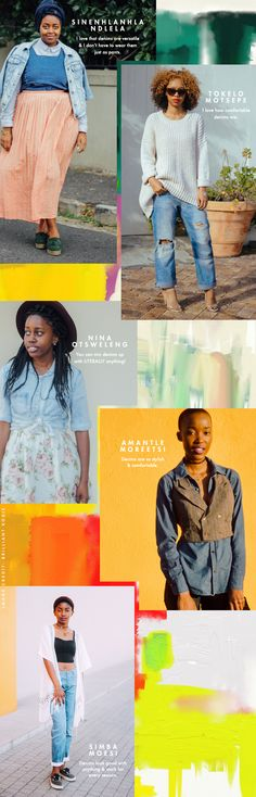 With the help of A Fashion Friend and their amazing photographers, we found some awesome fashionistas whose denim game is on point on the streets of Cape Town, Johannesburg and Durban.
