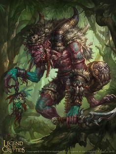 Hobgoblin Captain who was raiding caravan trails throughout the Fields of the Dead with his Hobgoblin raiders
