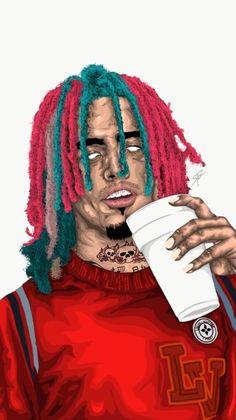 Anime Rapper, Rapper Art, Dope Cartoons, Dope Cartoon Art, Hero Wallpaper, Cartoon Wallpaper, Rap History, Arte Do Hip Hop, Trill Art