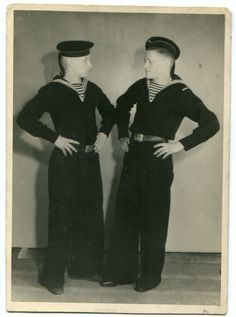 Two young handome Russian Red Army and navy marine soldier guys 1950's dancing in military uniform ORIGINAL vintage photo by PhotoMemoriesLane on Etsy