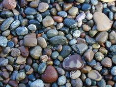 One of my absolute favorite things to do is pick up rocks on the Great Lakes beaches!