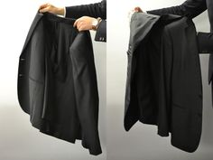 Ask a Black Lapel Stylist: How to Fold a Suit Jacket When Traveling | The Compass
