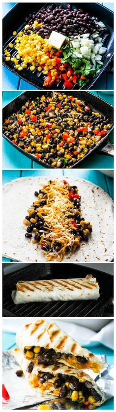 Ingredients 1 can of black beans ½ can of canned corn 1.5 cup mozzarella or Mexican blend shredded cheese 1 cup cooked rice (Optional...