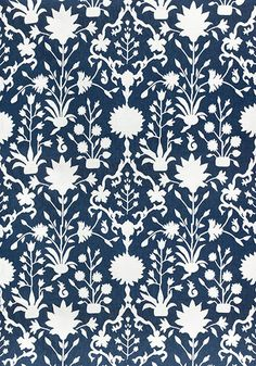 It's Sunbrella!  SOLANA, Navy, W80053, Collection Portico from Thibaut