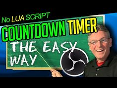 OBS Studio Countdown Timer - Learn The Easy, Simple & Fast Method - YouTube Countdown Timers, Script, Sick, Studio, Learning, Simple, Easy, Youtube, Script Typeface
