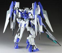 MG 1/100 Gundam AGE-2S Full Blaster Custom Build - Gundam Kits Collection News and Reviews