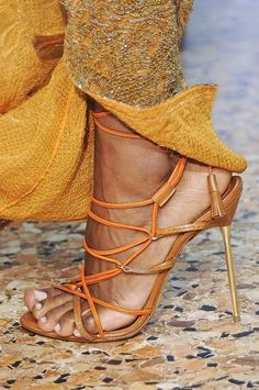 Strappy Sandal weather.