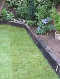 railway sleepers « Garden Gurus, Landscape Gardening in South London SW19 #GardenEdging