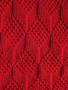Moss Diamond and Lozenge Pattern - Treasury of Knitting Patt.- Moss Diamond and Lozenge Pattern – Treasury of Knitting Patterns Moss Diamond and Lozenge Pattern – Treasury of Knitting Patterns - Knitting Stiches, Knitting Charts, Baby Knitting Patterns, Knitting Designs, Free Knitting, Knitting Projects, Crochet Stitches, Stitch Patterns, Crochet Patterns