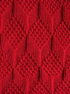 Moss Diamond and Lozenge Pattern - Treasury of Knitting Patt.- Moss Diamond and Lozenge Pattern – Treasury of Knitting Patterns Moss Diamond and Lozenge Pattern – Treasury of Knitting Patterns - Baby Knitting Patterns, Knitting Stiches, Knitting Charts, Baby Patterns, Free Knitting, Crochet Stitches, Stitch Patterns, Knit Crochet, Crochet Patterns