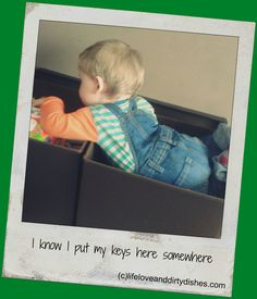 Get out of the toy box! #Parenting #Humour