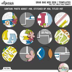 Grab Bag NSD 2016 | Templates $5 iNSD special