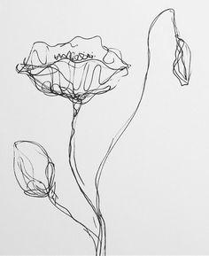 """Poppy""  #commingsoon #papoula #quadro #painting #flor #flores #poppy #bw #pb #preto #branco #black #white #flower #decor #design #interior #instahome #instadecor #instadesign #instaart #art #arte #nataliabillaartstudio #nataliabilla"