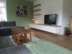 Living Room Tv Unit, Home Living Room, Home Room Design, Interior Design Living Room, Tv Decor, Room Decor, Floating Cabinets, Bedroom Furniture Design, Affordable Home Decor