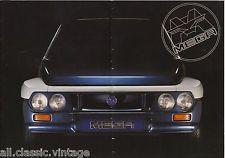 MEGA - Tjaffer Pick-Up/4x4/Cabriolet prospekt/brochure/folder Dutch 1995 RARE!   eBay