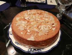 Orange Almond Cake with video instructions: https://www.youtube.com/watch?v=zYnHmptM_qg