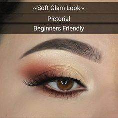 Soft Glam look using ABH Soft Glam palette. So I got lot of DM's for a picto… Soft Glam look using ABH Soft Glam palette. So I got lot of DM's for a pictorial for people who are not familiar with cut crease or lot of… – Das schönste Make-up Soft Eye Makeup, Eye Makeup Tips, Makeup Inspo, Makeup Ideas, Makeup Tricks, Beauty Makeup, Prom Makeup Tutorial, Makeup Pictorial, Glam Look