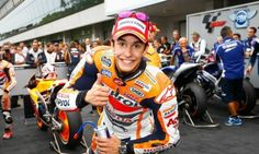 Marc Marquez (MM93) makes it four in a row at Brno MotoGP