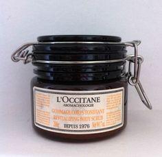 L'Occitane Aromachologie Revitalizing Body Scrub #LOccitane