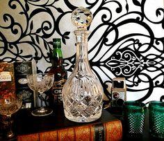 Vintage Crystal Decanter Lead Crystal Decanter Vintage Wine