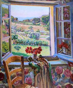 Window, South of France Duncan Grant - 1928