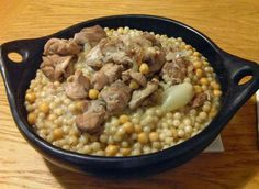 Syrian Foodie in London: Moghrabieh, Couscous of the other end of the Mediterranean Middle East Food, Middle Eastern Recipes, Lebanese Recipes, Turkish Recipes, Syrian Recipes, Lebanese Cuisine, Arabic Recipes, Couscous, Slow Cooker Recipes