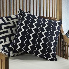 Barclay Butera Zigzag Design Throw Pillow