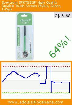 Spektrum SPKTSSGR High Quality Durable Touch Screen Stylus, Green, 1-Pack (Wireless Phone Accessory). Drop 64%! Current price C$ 6.68, the previous price was C$ 18.43. http://www.adquisitiocanada.com/spektrum/spktssgr-high-quality