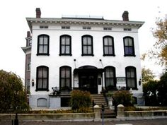 Lemp Mansion in St.Louis, Missouri. Paranormal writers claim the Lemp Mansion is one of the America's most haunted buildings.