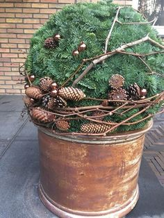 Christmas 2018 Weihnachten 2018 This image has get Rustic Christmas, Christmas Wreaths, Christmas Crafts, Christmas Ornaments, Christmas Christmas, Christmas Ideas, Decoration Table, Halloween Decorations, Christmas Decorations