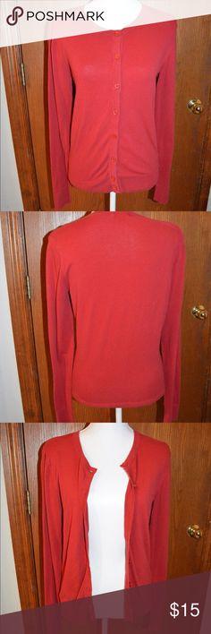 SALEMerona Cardigan 92% cotton, 6% nylon, 2% spandex, machine wash cold, tumble dry low. Was $15 now $10 Sweaters Cardigans