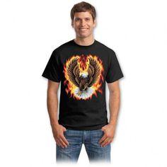 Tricouri cu vulturi – Tricou Eagle Bad To The Bone, Graphic Design Inspiration, Mens Tops, Vintage, Choppers, Spirit, Fashion, Moda, Fashion Styles